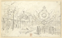 In Vauxhall Gardens, London, c.1832 f74